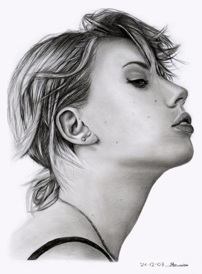 Scarlett Johansson par sas